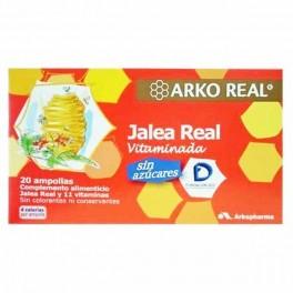 ARKO JALEA REAL VITAMINADA  SIN AZUCAR 20 AMP