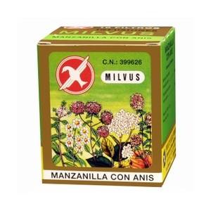 MANZANILLA ANIS MILVUS 10 BOLS
