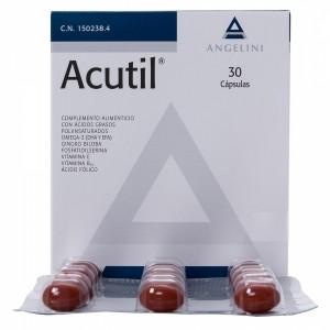 ACUTIL 30 CAPS