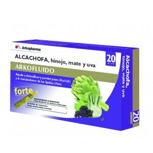 ARKOFLUIDO ALCACHOFA FORTE AMP BEBIBLES  15 ML 20 AMP