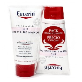 PACK EUCERIN CREMA DE MANOS 75 + 75 ML